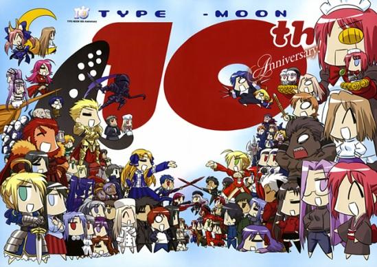 Tema de Cumpleaños de personajes de Type Moon Tenyears